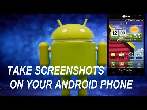 How To Take Screenshots On Most Android Phones???