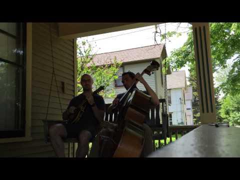 impromptu porch swing hang