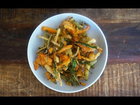 Crispy Fried Vegetable Fritters