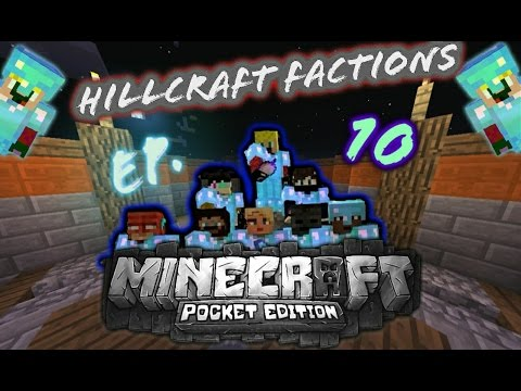 Hillcraft Factions Episode 10 : HUGE FIGHT AT WARP PVP