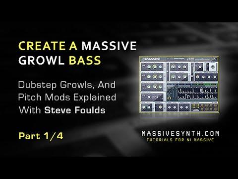 Massive Dubstep Growl Bass Using Picth Mods - Part 1/4