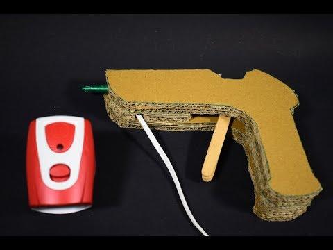 How To Make Glue Gun Using Mosquito Killer Machine - Very Simple