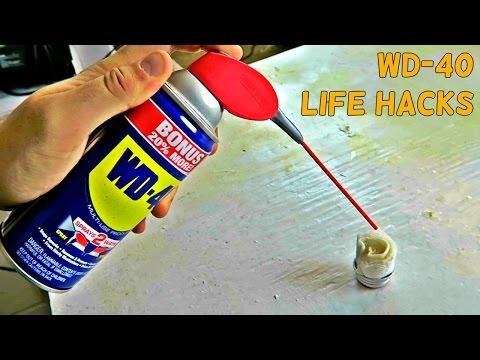10 Simple WD 40 Life Hacks