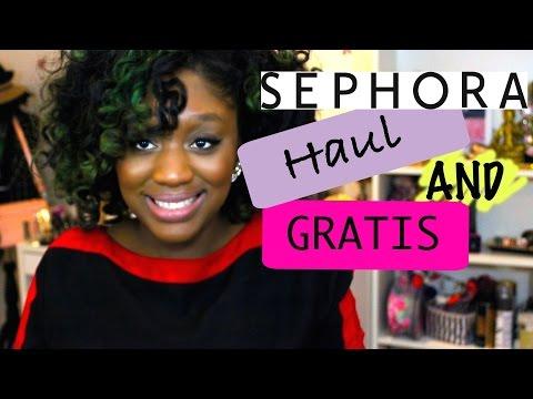 Sephora Haul and Gratis