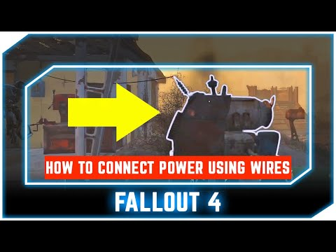 Fallout 4 Guide - How to Connect Power Using Wires