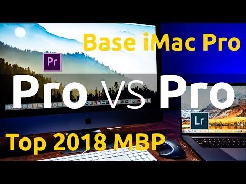 2018 i9 Macbook Pro vs iMac Pro - Premiere Pro and Lightroom