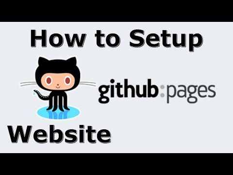How to Setup Github Pages - Website on Github - Complete Beginner Tutorial