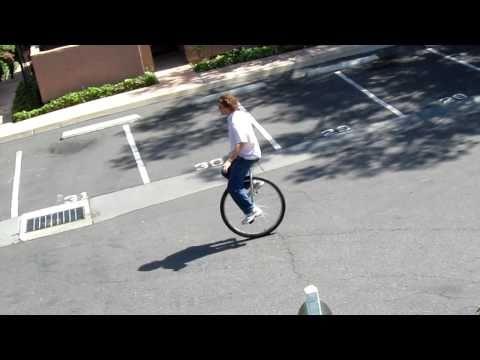 Big wheel unicycle