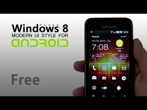 Windows Phone 8 Style for Android (free)