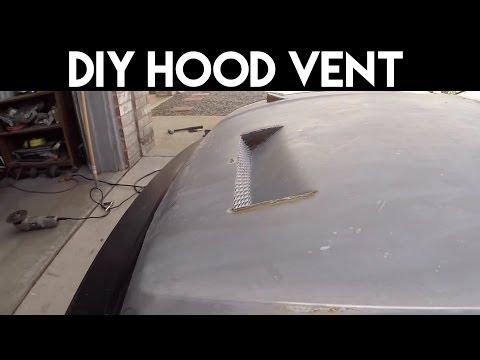 How to DIY Hood Vent EF Civic Hatchback