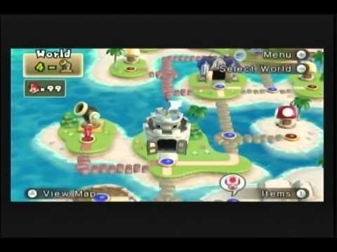 New Super Mario Bros. Wii: Missed Hidden Exits Compilation
