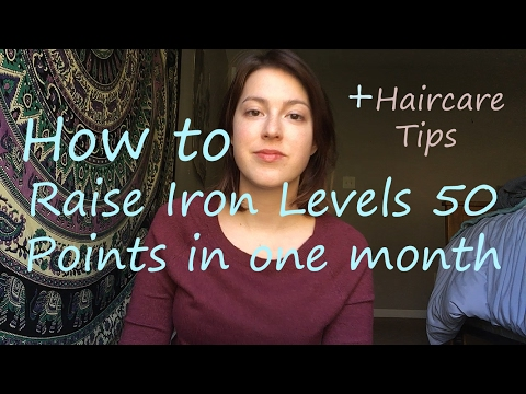 Hair growth journey part 2: raising my iron levels