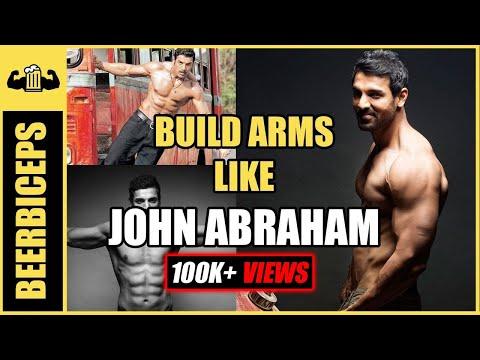 John Abraham Arm Workout - Detailed Arm Workout Plan in Gym - BeerBiceps