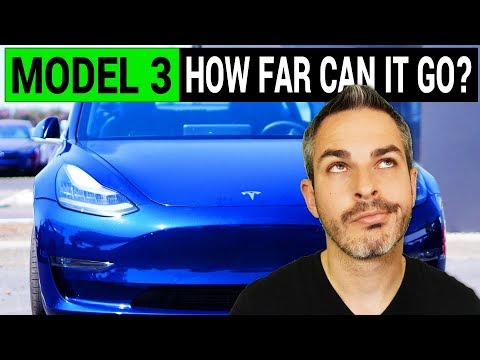 Tesla Model 3: How Far Can It Go on One Charge?