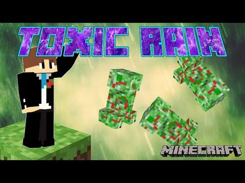 Toxic Rain Spell in Minecraft