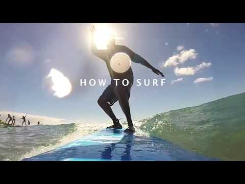How to Surf: Wilbur Sargunaraj in Kauai, Hawai'i