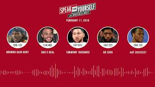 SPEAK FOR YOURSELF Audio Podcast (2.11.19) with Marcellus Wiley, Jason Whitlock | SPEAK FOR YOURSELF