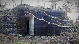 German WW2 installations everywhere. AMAZING Anti aircraft gun location.
