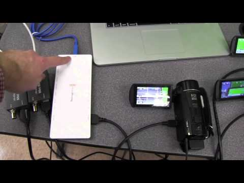 3 Camera Setup For Live Streaming Using Wirecast and MacbookPro