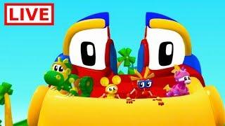 Mecanimais animação En Vivo | Episodio Completo: 105, 109, 118,112, 117 | desenhos para crianças