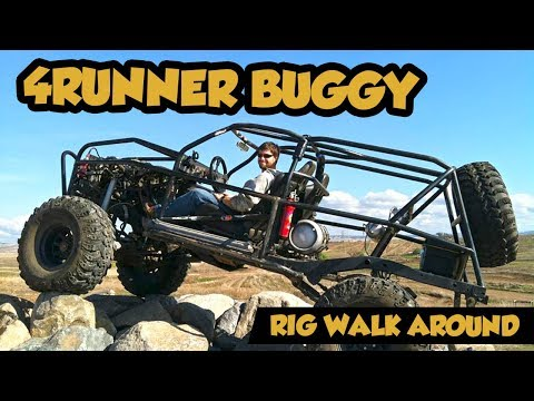 This is what you get when you cut the body off a Toyota 4Runner (Rig Walk Around)