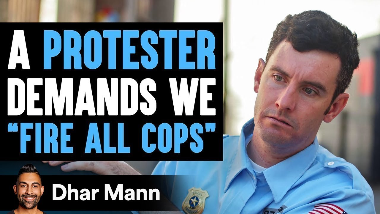 """Protester Wants To """"Fire All Cops"""", She Instantly Regrets Her Decision   Dhar Mann"""