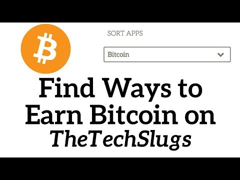 Find Ways to Earn Free Bitcoin with TheTechSlugs Archives