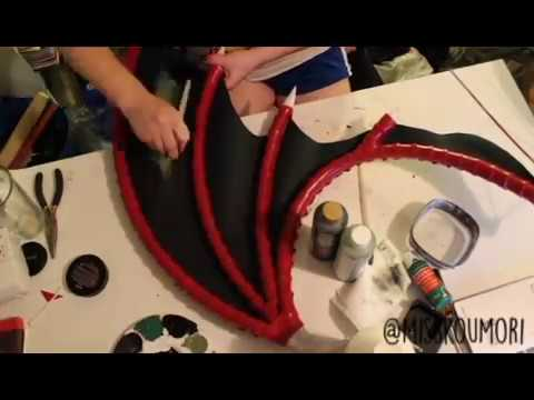 Morrigan+Lilith Cosplay Wing Tutorial [Teaser]