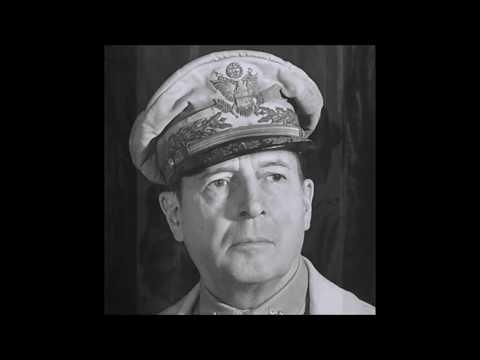 General Douglas MaCarthur:  Farewell address, given to Congress - Apr 19, 1951