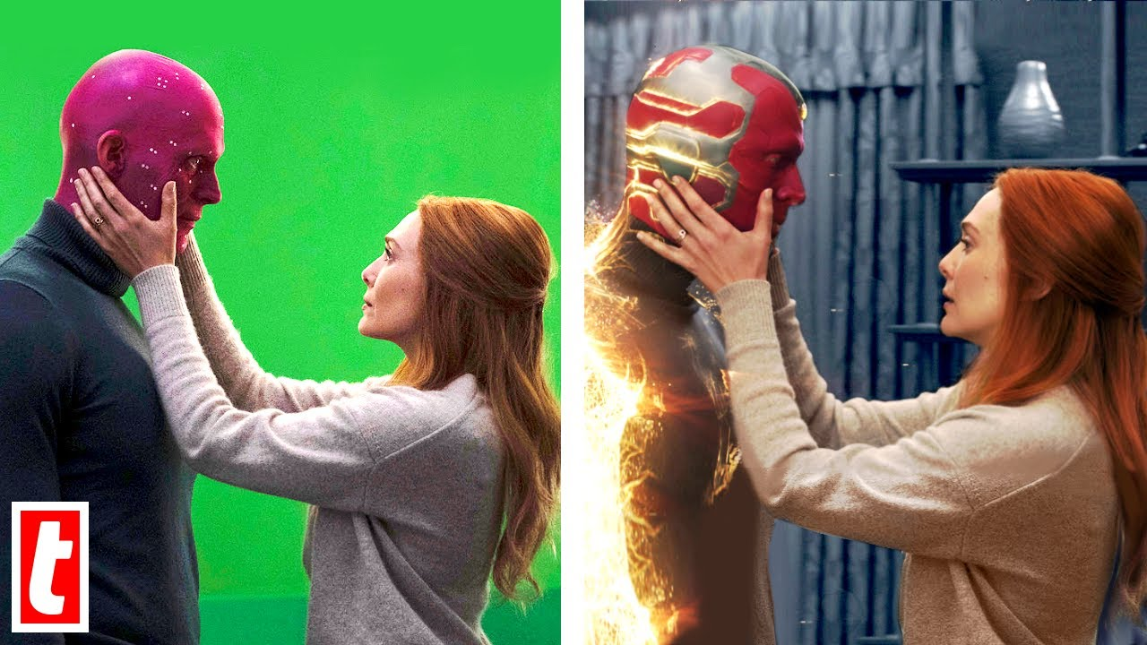25 Marvel Scenes With And Without Special Effects