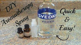 Diy Aromatherapy Room Linen Spray