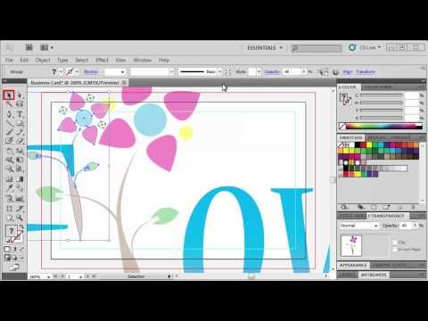 3.5 Making a Business Card: Adobe Illustrator CS5