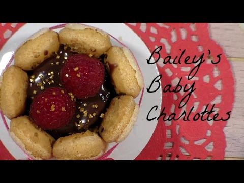 Mini Charlotte Cakes Recipe