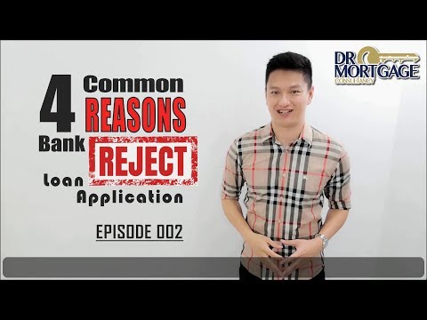 4 Common REASONS Bank REJECT the Loan Application! | EP 002
