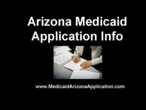Medicaid Arizona Application