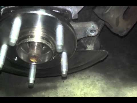 2006 ford freestyle hub / bearing removal.