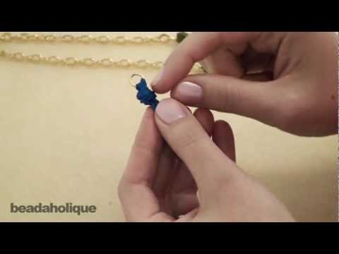 How to Attach Ribbon to a Jump Ring