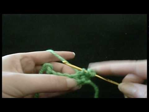 how to crochet - chain stitch, single, double and treble crochet