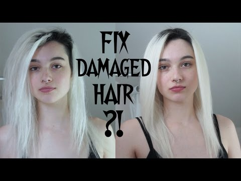 Trying to Fix Damaged Hair - Aphogee 2-Step Treatment First Impression