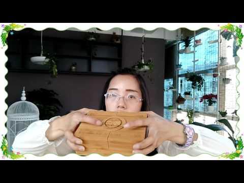 Yunnan Ripe Pu Erh tea Brick tea with wooden box packing