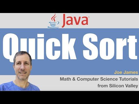 Java: QuickSort Explained