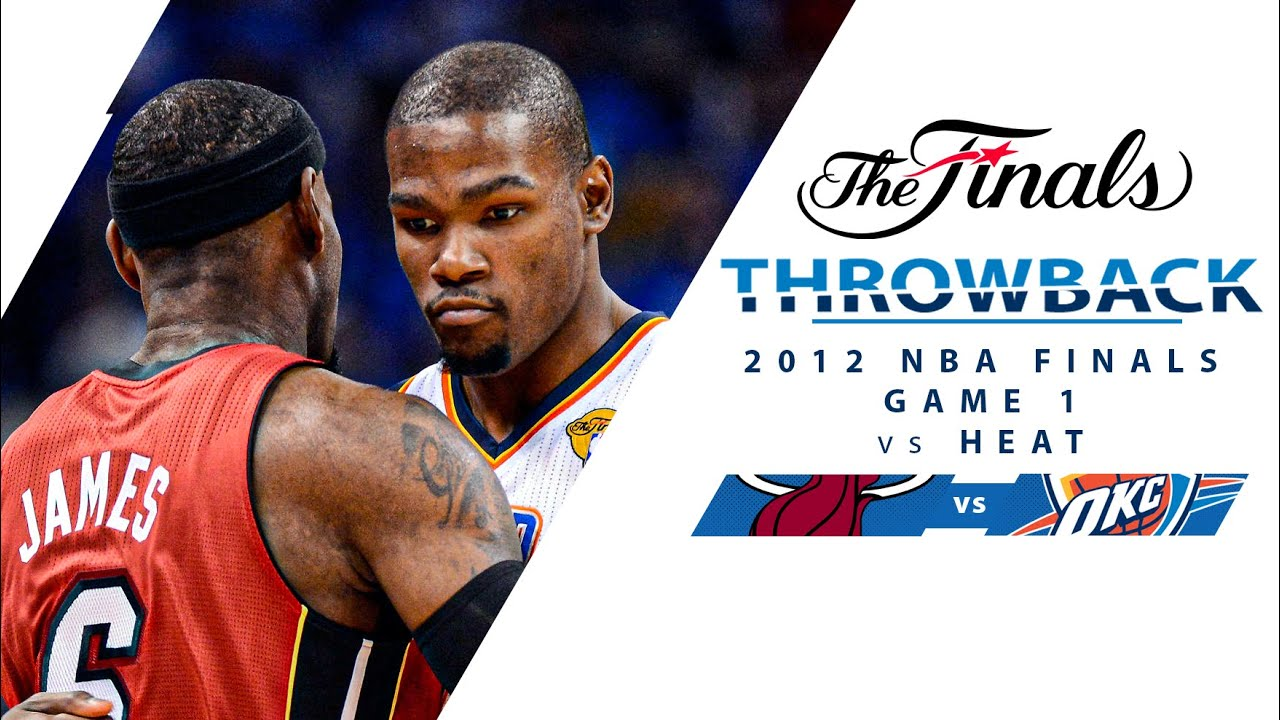 Kevin Durant Takes Over In 2012 NBA Finals Game 1 vs Heat   Full Classic Game - 6.12.12