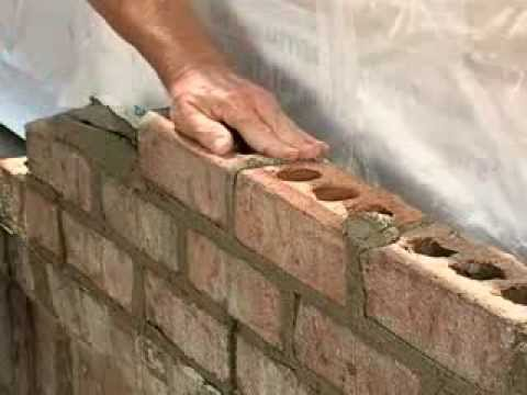 Tooling Mortar Joints