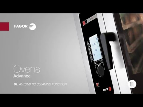 Advance Ovens | Automatic cleaning function