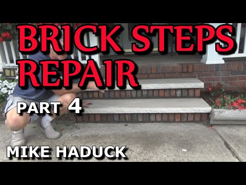 How I repair brick steps (part 4 of 4) Mike Haduck