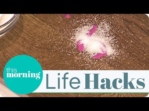 Life Hacks - Remove Spilt Nail Varnish From Hard And Carpeted Floors