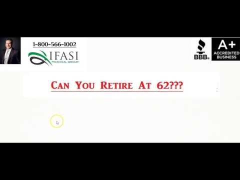 Can You Retire at 62 - How Can You Retire at 62
