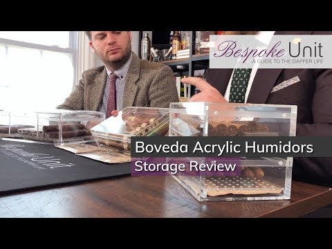 Boveda Acrylic Cigar Humidor Review: Checking Out Boveda's Transparent Cigar Storage Solution