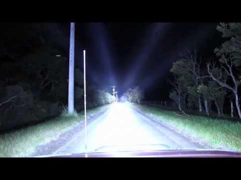 7 x 100W Xenon HID Lightforce on Nissan Patrol by HID-Lightsdownunder