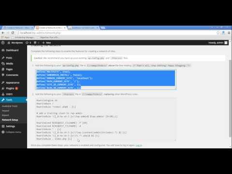 How Create Multiple Website in Single Wordpress Installation